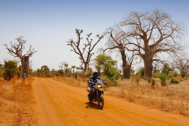 pista in Senegal